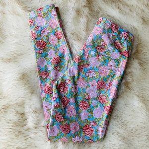 Motel Princess Polly floral skinny jeans